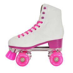 Goldcross Retro Roller Skates Pink US 8, Pink, rebel_hi-res