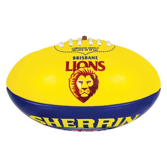Sherrin AFL Brisbane Lions Softie Ball, , rebel_hi-res