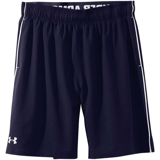 Under Armour Mens Mirage 8in Training Shorts, Navy / White, rebel_hi-res