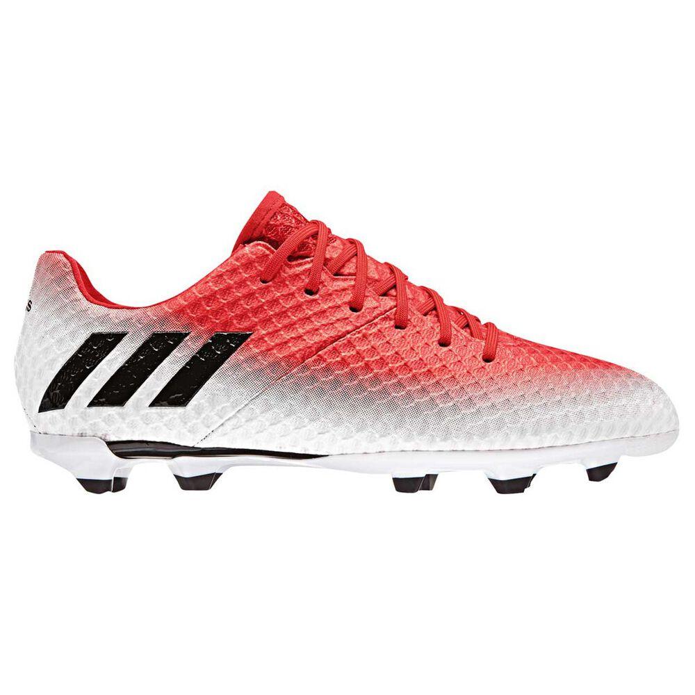 adidas Messi 16.1 Junior Football Boots Red   Black US 3 Junior ... be0132b22
