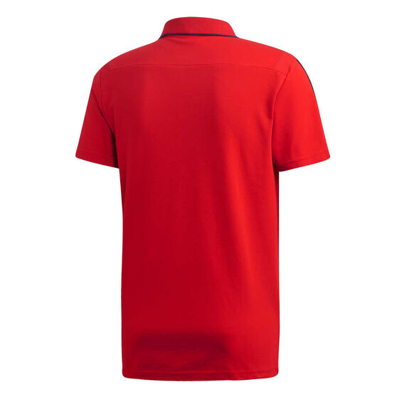 Arsenal FC 2019/20 Mens Polo Red M, Red, rebel_hi-res