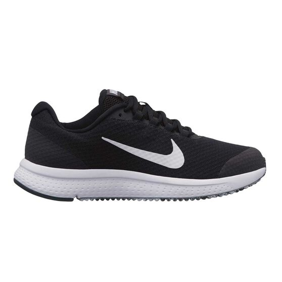 Nike Run All Day Womens Running Shoes, Black / White, rebel_hi-res