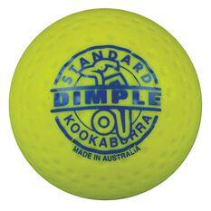 Kookaburra Dimple Standard Hockey Ball Yellow, , rebel_hi-res