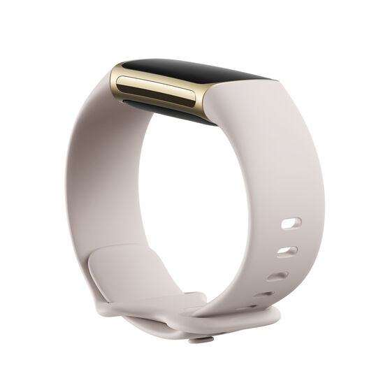 Fitbit Charge 5 Fitness Tracker Lunar White, , rebel_hi-res