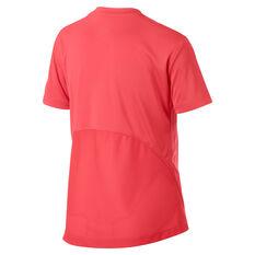 Nike Girls DriFIT Short Sleeve Grapic Tee Red XS, Red, rebel_hi-res