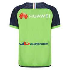 Canberra Raiders 2021 Kids Home Jersey, Green, rebel_hi-res
