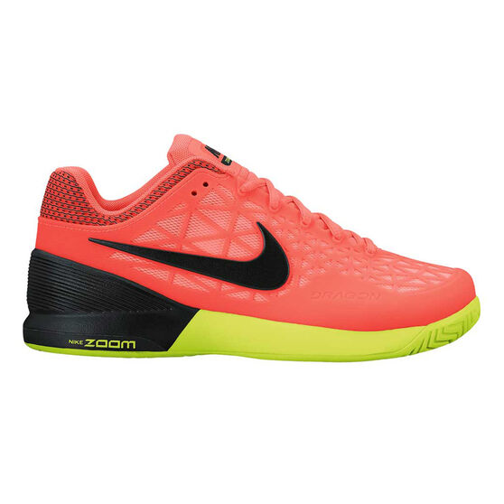 12c079ddabf1a Nike Zoom Cage 2 Womens Tennis Shoes Orange   Black US 6.5