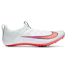 Nike Zoom Superfly Elite 2 Track Spikes White/Crimson US 4, White/Crimson, rebel_hi-res