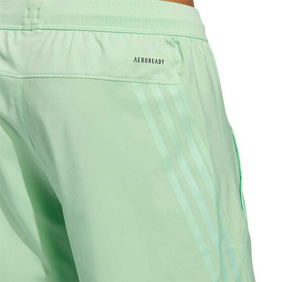 adidas Mens AEROREADY 3-Stripes Shorts, Green, rebel_hi-res