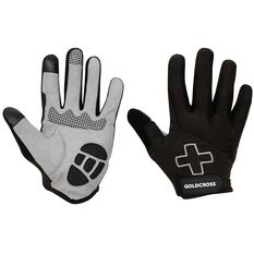Goldcross Full Finger Gloves XL, , rebel_hi-res