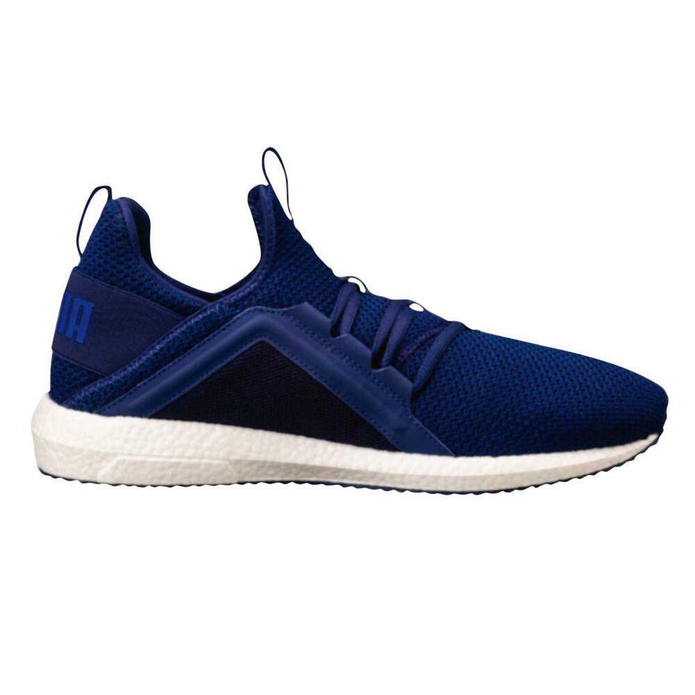 5ffe182a21fcc0 Puma Mega NRGY Knit Mens Running Shoes Blue US 9