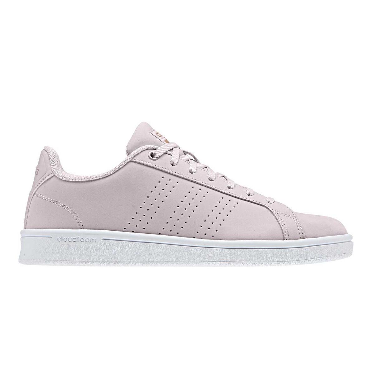 Adidas Cloudfoam Advantage Women's Leather Casual Shoes | eBay