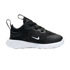Nike Renew Lucent Toddlers Casual Shoes Black / White US 2, Black / White, rebel_hi-res