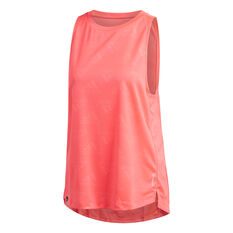 adidas Womens Own the Run Tank Pink XS, Pink, rebel_hi-res