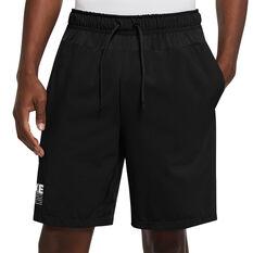Nike Mens Graphic Flex Shorts Black S, Black, rebel_hi-res