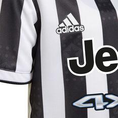 Juventus FC 2021/22 Infants Home Kit, Black/White, rebel_hi-res