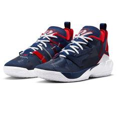 Jordan Why Not Zer0.4 Basketball Shoes, Blue, rebel_hi-res