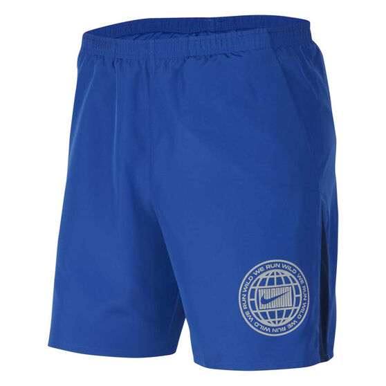 Nike Mens Dri-FIT Wild Run Running Shorts, Blue, rebel_hi-res