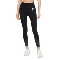 Nike Air Womens Tights Black XS, Black, rebel_hi-res