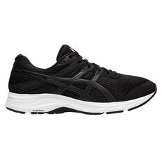 Asics GEL Contend 6 Mens Running Shoes, Black/Grey, rebel_hi-res