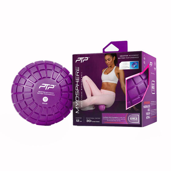 PTP Confident Girls Foundation Myosphere Massage Ball, , rebel_hi-res