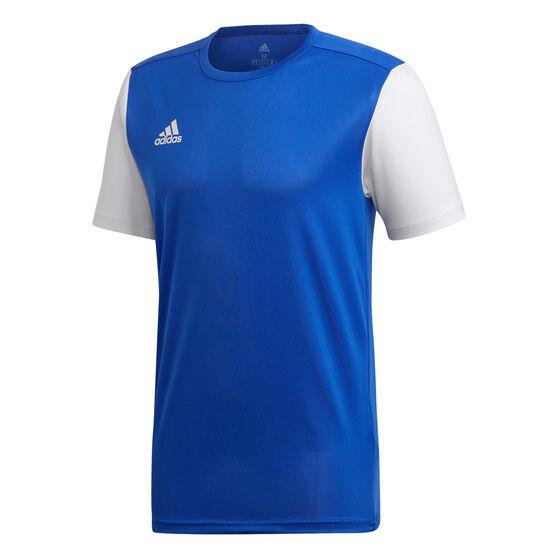 adidas Mens Estro 19 Football Jersey, Blue, rebel_hi-res