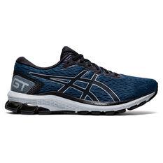 Asics GT 1000 9 Mens Running Shoes Blue/Black US 7, Blue/Black, rebel_hi-res