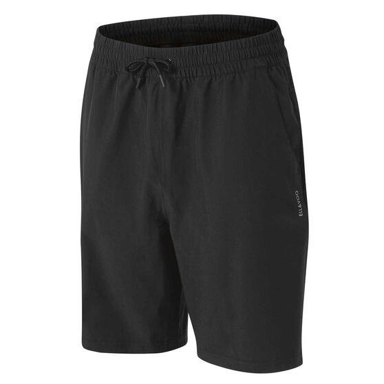 Ell & Voo Womens Lucia Walk Shorts Black 10, Black, rebel_hi-res