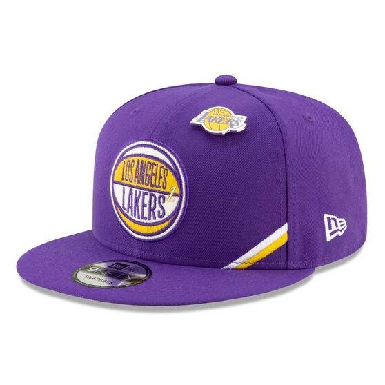 Los Angeles Lakers 2019 New Era 9FIFTY Draft Cap, , rebel_hi-res