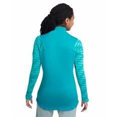 Nike Womens Dri-FIT Strike Soccer Drill Top Blue XS, Blue, rebel_hi-res