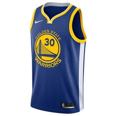 ... Nike Golden State Warriors Stephen Curry 2019 Mens Swingman Jersey Rush  Blue S 67c884d8f