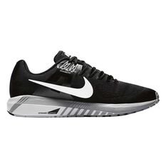 Nike Air Zoom Structure 21 Mens Running Shoes Black / White US 15, Black / White, rebel_hi-res