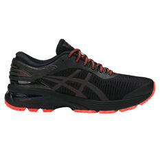 Asics GEL Kayano 25 Lite Show Womens Running Shoes Black / Black US 6, Black / Black, rebel_hi-res