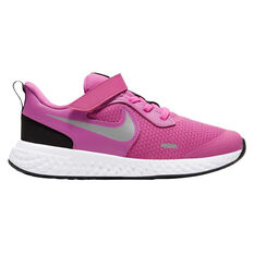 Nike Revolution 5 Kids Running Shoes Pink / White US 11, Pink / White, rebel_hi-res