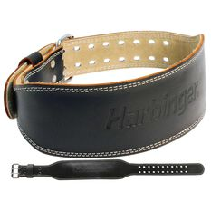 Harbinger 4in Leather Weight Lifting Belt, , rebel_hi-res