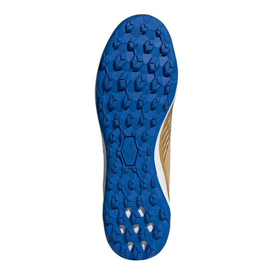 adidas Predator 19.3 Laceless Touch and Turf Boots, Gold / Blue, rebel_hi-res
