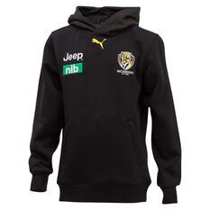 Richmond Tigers 2020 Kids Team Hoodie Black 8, Black, rebel_hi-res