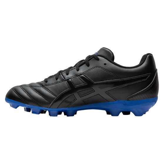 Asics Lethal Flash IT Kids Football Boots, Black / Blue, rebel_hi-res