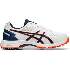 Asics GEL 300 Not Out Cricket Shoes White / Navy US 8, White / Navy, rebel_hi-res
