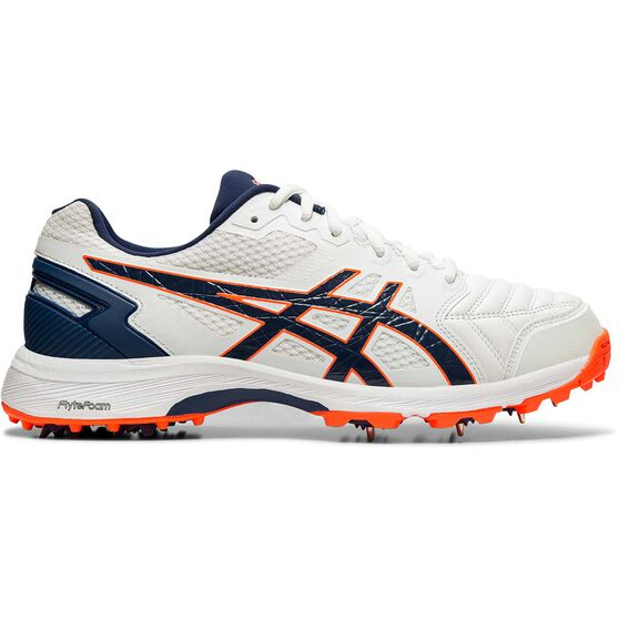 Asics GEL 300 Not Out Cricket Shoes, White / Navy, rebel_hi-res