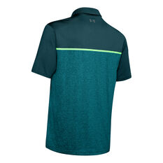 Under Armour Mens Playoff Polo 2.0 Green S, Green, rebel_hi-res