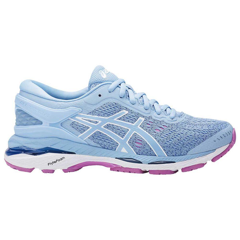 Asics Gel Kayano 24 Kids Running Shoes Blue   Purple US 6  091eaf3a3463