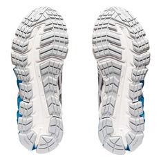 Asics GEL Quantum 180 5 Womens Training Shoes Grey/White US 6, Grey/White, rebel_hi-res