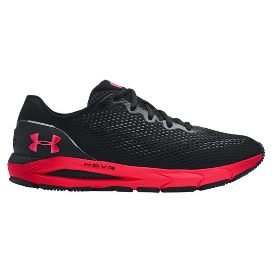 Under Armour HOVR Sonic 4 Colourshift Mens Running Shoes, Black/Red, rebel_hi-res