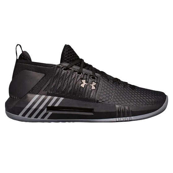 Under Armour Drive 4 Low Mens Basketball Shoes, , rebel_hi-res