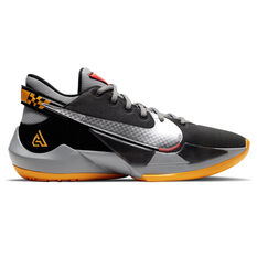 Nike Zoom Freak 2 Basketball Shoes Black US 5.5, Black, rebel_hi-res
