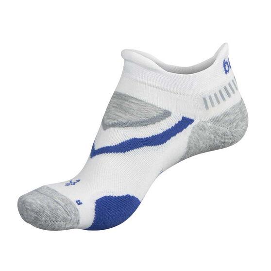 Balega UltraGlide No Show Socks, White, rebel_hi-res