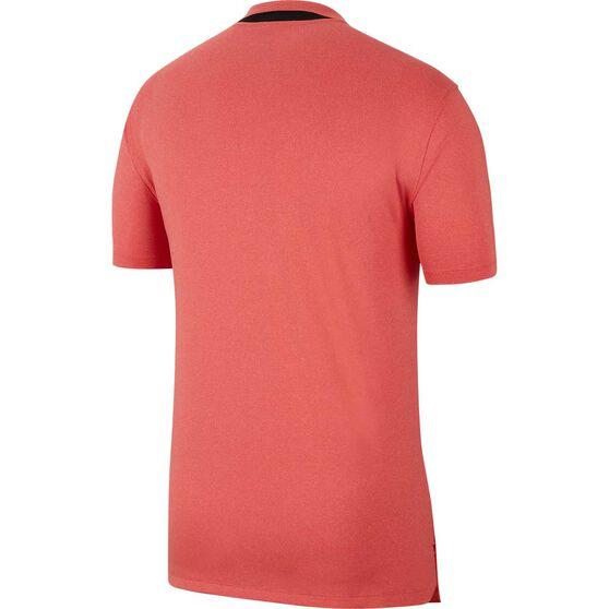 Nike Mens Dri-FIT Vapor Golf Polo, Red, rebel_hi-res