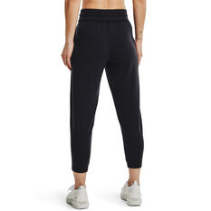 Under Armour Womens Project Rock Terry Pants, Black, rebel_hi-res