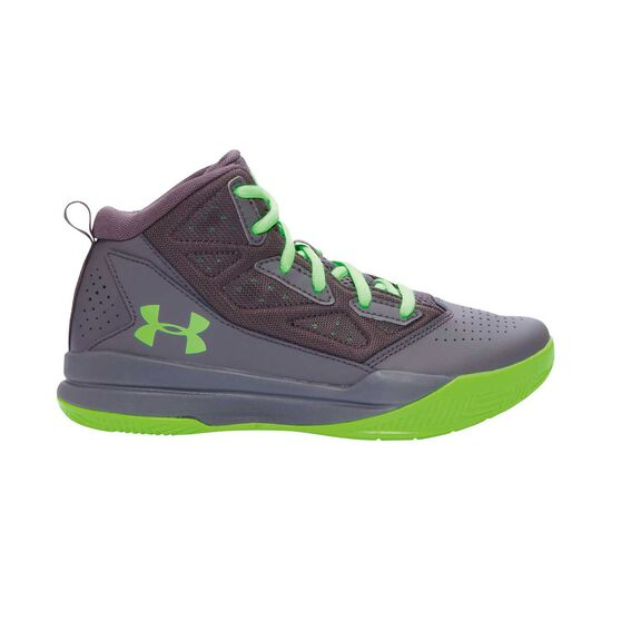on feet at good quality special sales Under Armour Jet Mid Boys Basketball Shoes